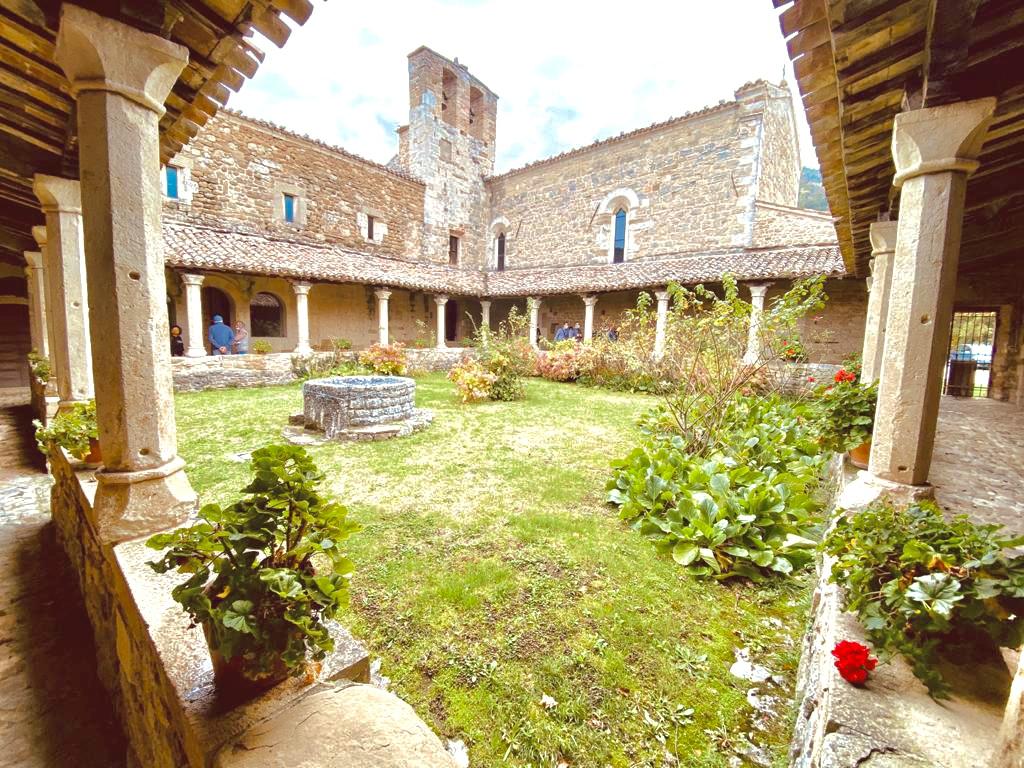 sant'igne chiostro porticato campanile