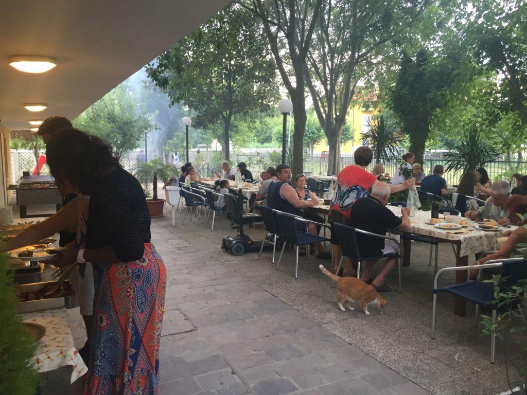 barbecue giardino albergo a rimini