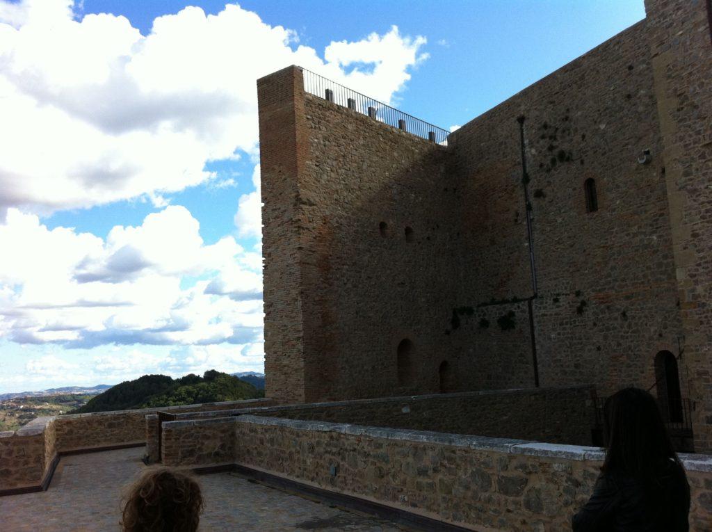 castello di Montefiore conca vista su pianura