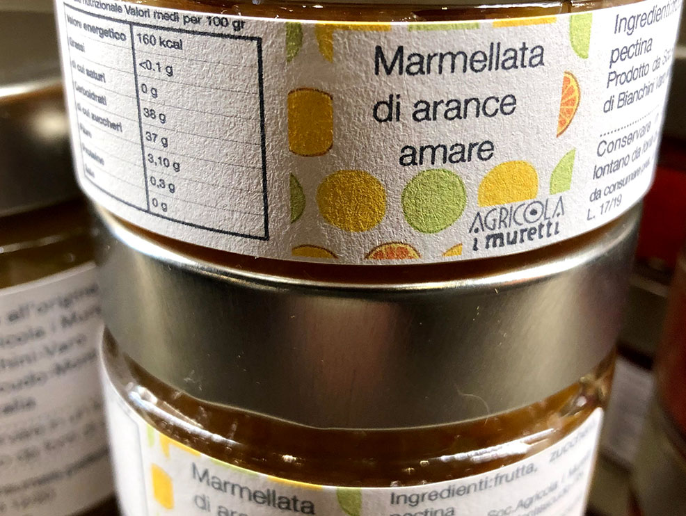 marmellata di arance amare agricola muretti montecolombo